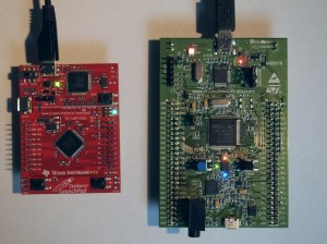 ARM M4 Evaluation Boards